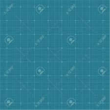 Graph Paper Grid Background Dark Blue Color 2d Vector