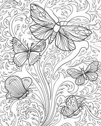 Free Printable Butterfly Coloring Pages For Adults At Getdrawings