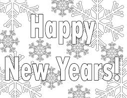 Small Picture New Year Coloring Pages Printable New Years Coloring Pages