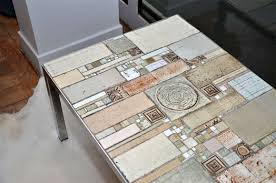 belgian a pia manu ceramic top coffee table for