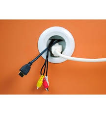 flat screen tv cord and cable power kit