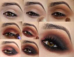evening make up for brown eyes video tutorial 7 jpg