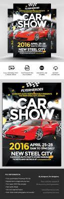 Car Flyers Car Show Flyer Template FlyerHeroes 15