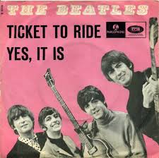 what was the first beatles song over three minutes in length  ticket to ride yes it is the beatles 45 single