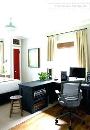 home office in master bedroom. Bedroom Office Combo Ideas Guest And Combination Master  Home . In