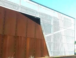corrugated steel panels metal interior walls wall for unique architectural w canada cost