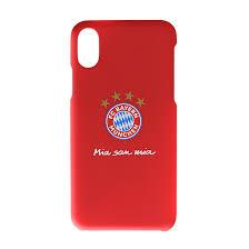 Handycover Logo iPhone X | Offizieller FC Bayern Fanshop