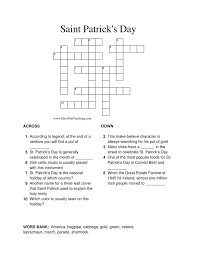 St. Patrick's Day Worksheets   Have Fun Teaching