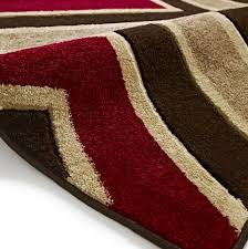 area rugs red and brown
