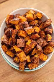 roasted sweet potato recipes. Exellent Sweet Cinnamon Chili Roasted Sweet Potatoes To Roasted Sweet Potato Recipes