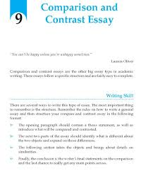 best writing skill images writing skills grade  grade 9 comparision and contrast essay writing wordzila com