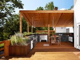Modern Outdoor Kitchen TjiHome - Modern outdoor kitchens