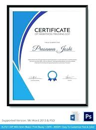 Free Forklift Certification Certificate Template Operator