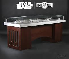 regal robot official licensed star wars furniture han solo in carbonite office desk table