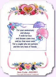 best 25 anniversary card messages ideas on pinterest Wedding Anniversary Card Wording For Husband card sentiments wedding anniversary card verses by moonstone treasures anniversary card words for husband