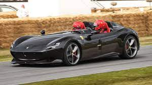 810hp Ferrari Monza Sp2 V12 Engine Sound Accelerations Burnouts Youtube