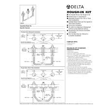 delta 6 way diverter diagram inspirational installing delta shower faucet multichoice universal tub and shower