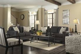 living room paint color ideas dark. Grey Living Room With Brown Furniture Baluster Wooden Ceiling Design Wood Exposed Panels Round Table Paint Color Ideas Dark