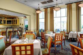 a restaurant or other place to eat at hilton garden inn wilmington mayfaire town center