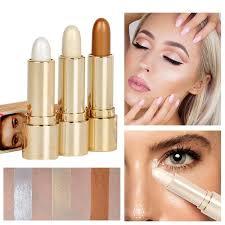 shimmer highlight contour stick makeup tool beauty face powder cream natural makeup cream eye foundation highlight pen stick ljjw74 best highlighter for