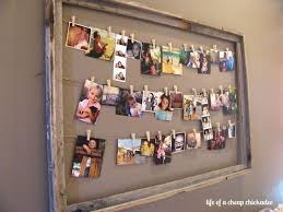 to hang photos without frames