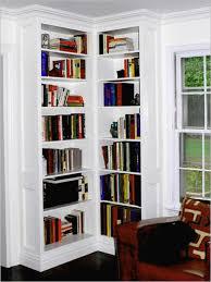 tips ideas skinny shelf unit target corner bookcase white cornere inside corner bookcase white