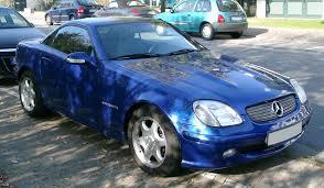 Mercedes-Benz SLK-Class (R170) - Wikipedia