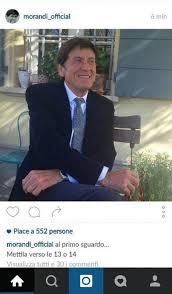 Открыть страницу «gianni morandi» на facebook. Gianni Morandi E Il Famoso Post Su Instagram Vitadablog