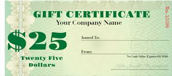Free Gift Certificates Templates Design Your Fake Money