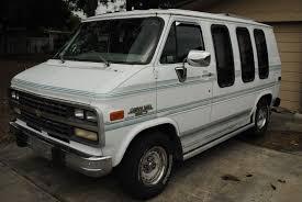 1993 Chevrolet G20 Van MARK III Conversion Mark III Chevy ...