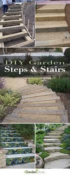diy garden steps outdoor stairs the garden glove