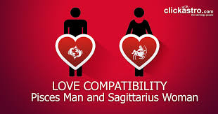 Pisces Man And Sagittarius Woman Love Compatibility From