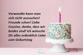 Glückwünsche Für Die Cousine Zum Geburtstag Birthday Wishes