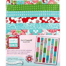Weekend Kits Blog: Simple Quilts! Easy Quilt Kits for Beginners & Honeydew Stripes Quilt Kit Adamdwight.com