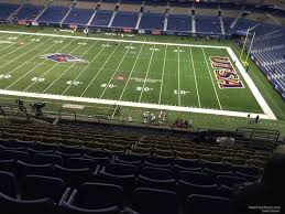 Alamodome Ncaa Basketball Seating Chart Alamodome Section 310 Utsa Football Rateyourseats Com