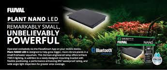 Fluval Plant Nano Light New Fluval Plant Nano Led With Bluetooth Controls Aquapet