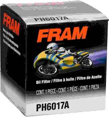 Yamaha Oil Filter Chart Fram Motorcycle Full Flow Spin On Oil Filter Ph6017a Fram