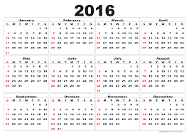 Simple Calendar Template 2015 2016 Calendar Template Download