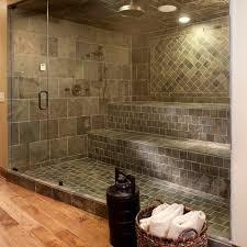 shower with dark ceramic tile 1000 ideas about tile floor designs bathroom floor tile design patterns 1000 images