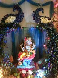 ganpati decoration ideas pooja room and rangoli designs 17 best