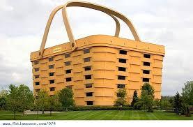Gigantic Picnic Basket Office Building: Longaberger Company's massive basket  building in Newark, Ohio.