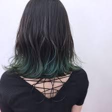 緑の髪色で作る透明感ナチュラル個性派髪色に挑戦したいアナタに
