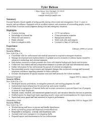 Security Resume Sample Sample Security Guard Resume Therpgmovie 4