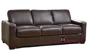 rubicon b534 leather sleeper sofas