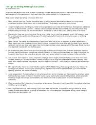 How To Write A Resume For Job Interview Awesome Best Cover Letters