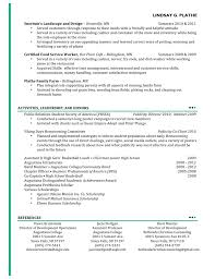 Gallery Of Cosmetology Instructor Resume Examples No Experience Free