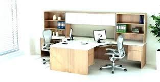2 person desk. Modular Corner Desk Two Person 2 Systems Entrancing