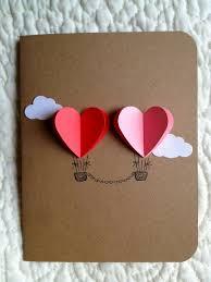 the 25 best wedding card ideas on pinterest rustic wedding Wedding Card Craft Pinterest couple heart hot air balloon card ( red pink ) Pinterest Card Making Ideas
