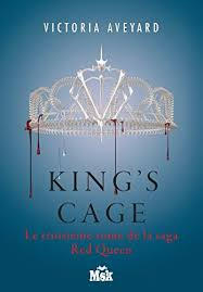 king s cage red queen tome 3 french edition by aveyard