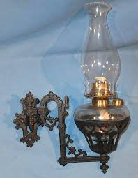 wrought iron oil lamp b h and no cast iron wall bracket oil lamp wrought iron oil